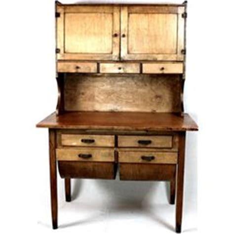 antique possum belly kitchen cabinet