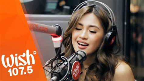 julie anne san jose on wish 107 5 julie anne san jose performs quot nothing left quot live on wish