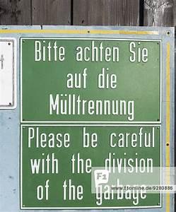 Die Rechnung Bitte Auf Englisch : schild in deutsch und englisch bitte achten sie auf die ~ Themetempest.com Abrechnung