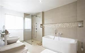 beaucoup d39idees en photos pour une salle de bain beige With salle de bain ou salle d eau
