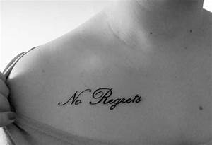 35+ Coolest Word Tattoo Designs – Exclusive Small Word ...
