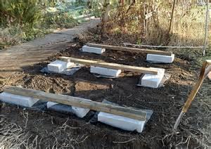 Build Shed Foundation