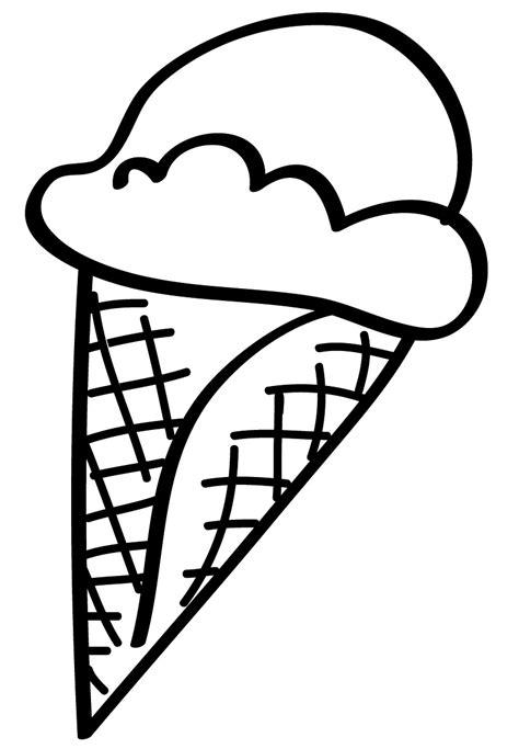 disegni cono gelato da colorare sta disegno di cono gelato da colorare
