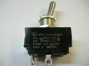 Carling Technologies Toggle Switches 125  10