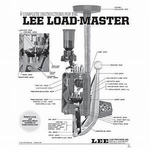 Lee Precision Load Master  40 Smith  U0026 Wesson Parts   Lee