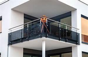 Balkon Mit Glas : balkongel nder gel nder aus edelstahl und glas im raum dresden ~ Frokenaadalensverden.com Haus und Dekorationen