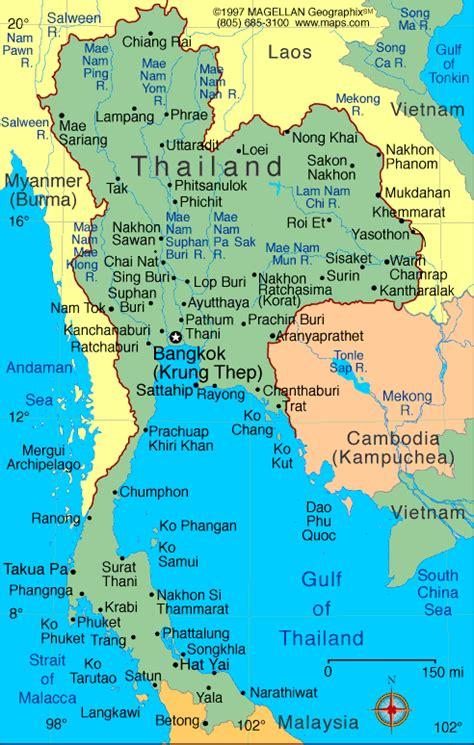 map  thailand  maps  thailand