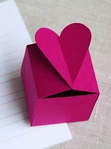 Comment Faire Des Choses En Papier : fabriquer un bo te cadeau en forme de coeur formes de ~ Zukunftsfamilie.com Idées de Décoration