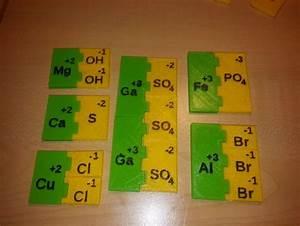 3D print ionic compound bonding sheet. Manipulatives ...