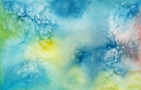 Blue Watercolor background ·① Download free stunning HD
