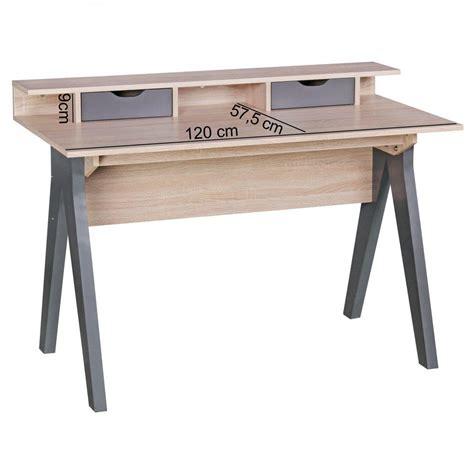 misure scrivania scrivania per computer mila superficie in legno cm