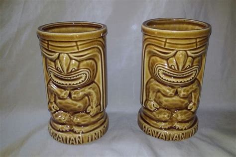 """24 hour coffee in tucson on yp.com. Vintage Orchids of Hawaii Japan Hawaiian Inn Tiki Drink Cup Mug 5"""" Tall (With images) 