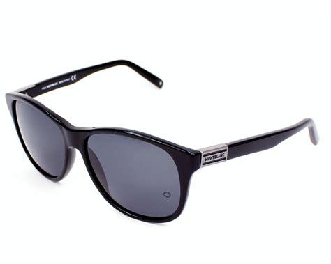 lunettes de soleil mont blanc mb373s 01a 57 visionet