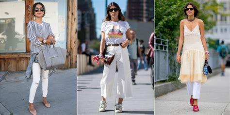 comment porter le jean blanc cosmopolitanfr