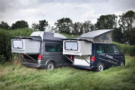 bett mobil extendable volkswagen multivan  camping
