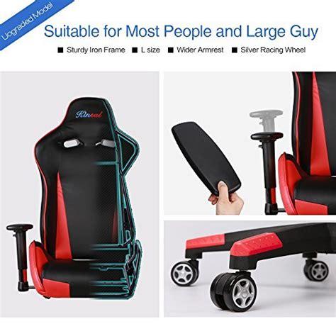 support lombaire bureau kinsal gaming chair chaise de bureau à dossier haut