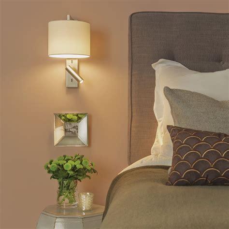 astro lighting 7458 ravello led reader wall light in matt
