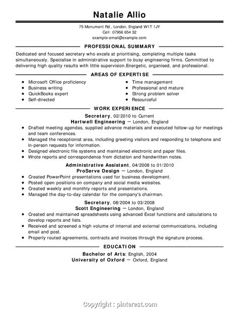 Areas Of Expertise Resume by Professional Cv Areas Of Expertise Exles Choose From