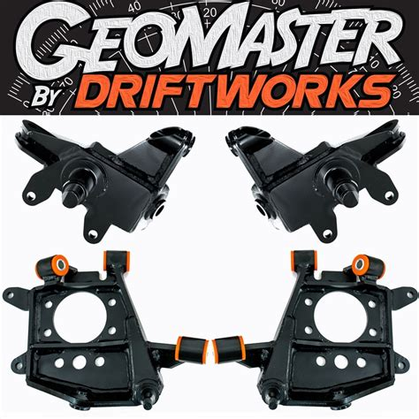 Driftworks S Chassis GeoMaster 2 - Drop Knuckles | Driftworks.com
