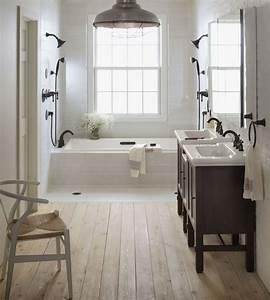 idee decoration salle de bain salle de bains vintage With salle de bain design avec magazine décoration intérieure