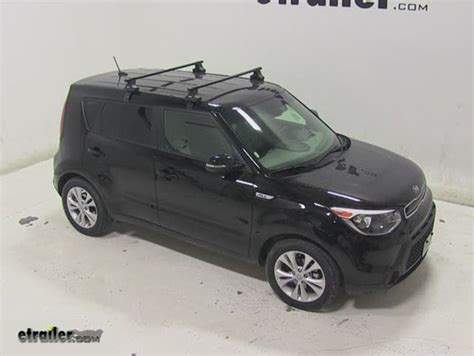 kia roof rack thule roof rack for 2015 soul by kia etrailer