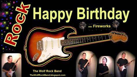 happy birthday song rock version happy birthday
