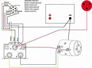 Simple Winch Wiring Diagram