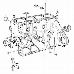 Volvo 940 Se Pin  Block  Cylinder  Engine