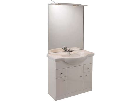 cuisine rangement bain bloc l 80 cm salle de bain turin coloris blanc vente de