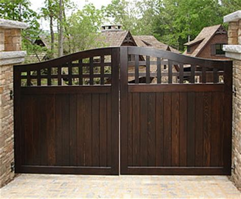 Portland Collection Wood Driveway Gate   Traditional   Home Fencing And Gates   Portland   by