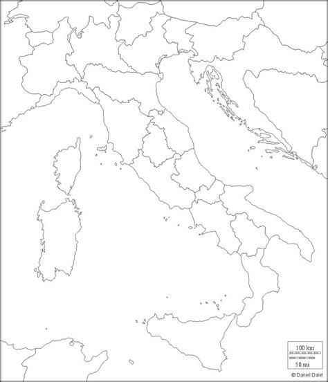Carte Région Administrative Vierge by Carte De L Italie Cartes Sur Le Relief Villes Nord