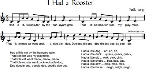 rooster beths notes