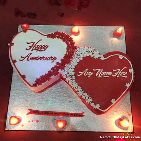 happy anniversary cake    photo