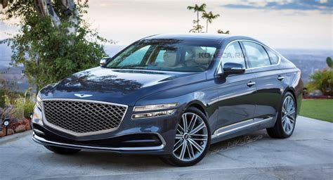 hyundai g80 2020 2020 genesis g80 render is indicative of what we so