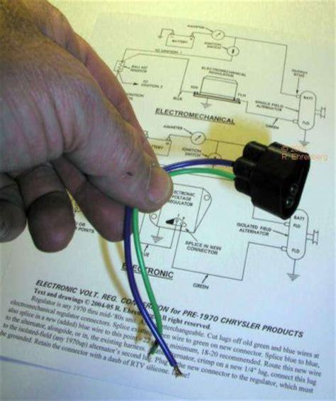 sell nos mopar 1960 69 alternator charging regulator upgrade dart cuda charger gtx motorcycle