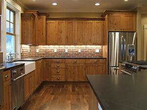 Astonishing Knotty Alder Kitchen Image Ideas with Wood