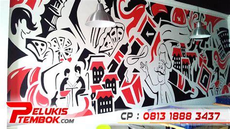 Grafiti 3d Di Dinding