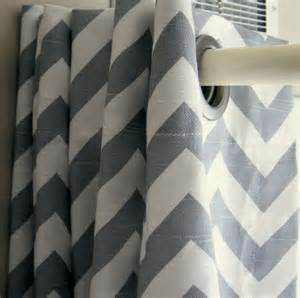 make a big pattern statement in your bathroom with this gray chevron etsy finds