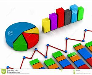 Reports Graph Diagram Stock Illustration  Illustration Of