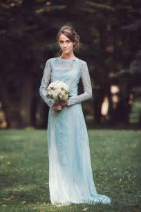 blue wedding gown a truly special something blue your wedding dress onefabday