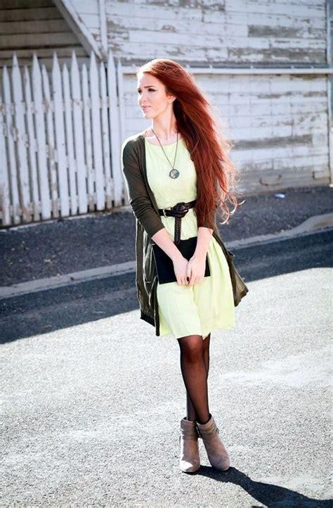 redhead fashion ideas  pinterest red hair