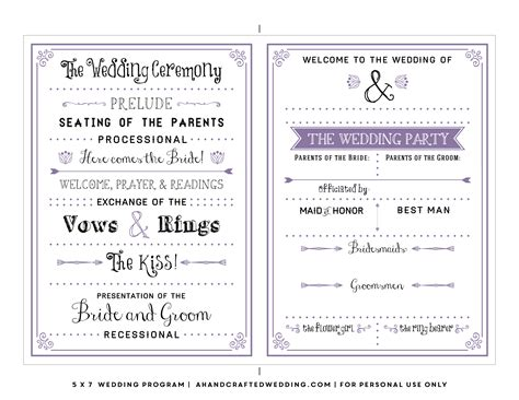 diy wedding invitations template search wedding stuff diy wedding program template