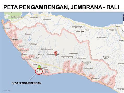 map kota jembrana