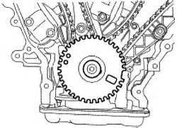 solved how to replace timing chain cover chain sprockets seal on ford taurus