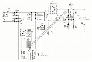52w smps ac dc adapter circuit wiring diagrams With simple smps circuit