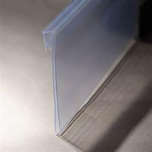 Plastic clear hinged shelf label holders buy shelf label for Clear shelf label holders