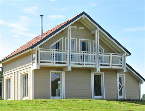 maison bois gamme tendance bardage canexel nos maisons ossatures bois maison 2 pans