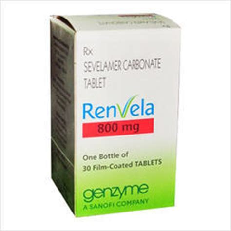 Sevelamer Carbonate - Suppliers & Manufacturers in India