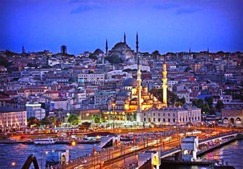 pemandangan kota istanbul pernik dunia