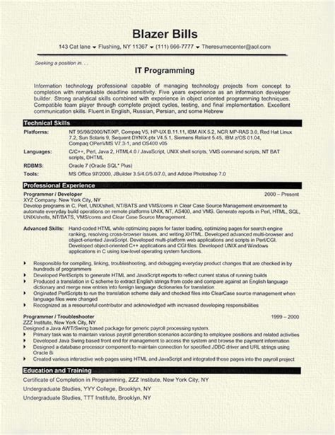 java projects for resume 57 images resume sle java